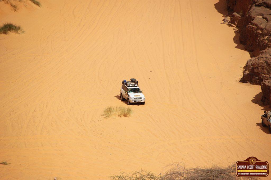 Paso de Tifoujar, Mauritania, Sahara Desert Challenge 2015