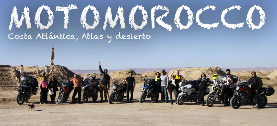 Motomorocco Costa Atlantica Atlas Desierto