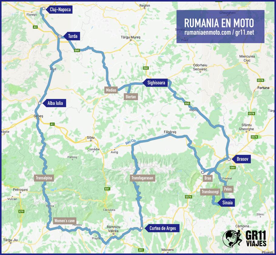 Ruta Rumania En Moto Gr11 Viajes