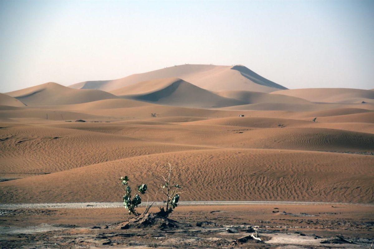 Erg Cheggaga en Marruecos