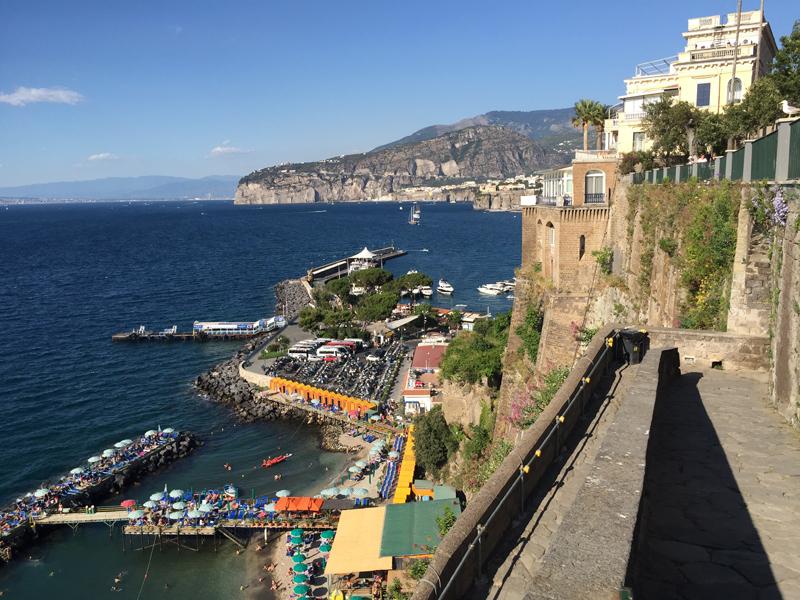 Costa Amalfitana en moto