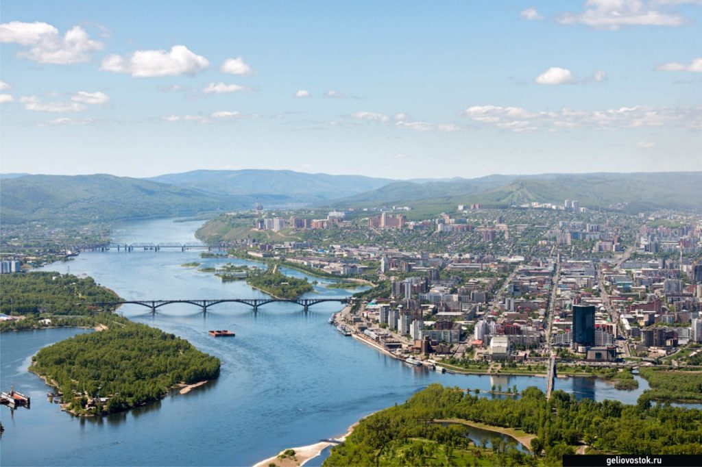 Viaje En El Transiberiano Krasnoyarsk