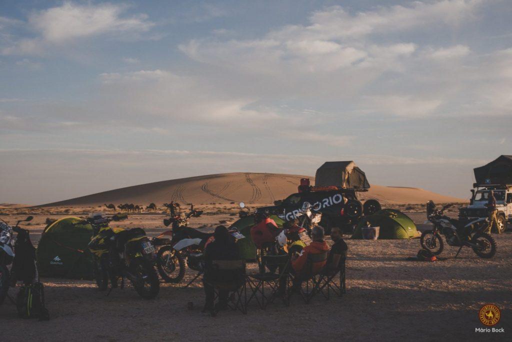 Acampada Pk55 Mauritania