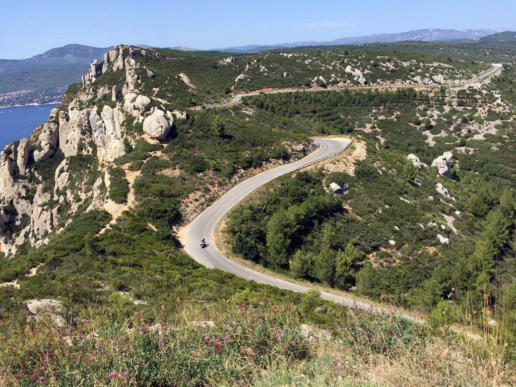 Ruta Des Crettes En Moto