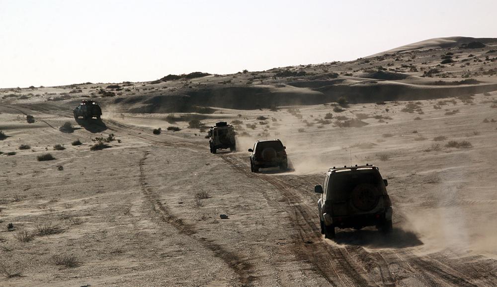 Sahara Desert Challenge 25