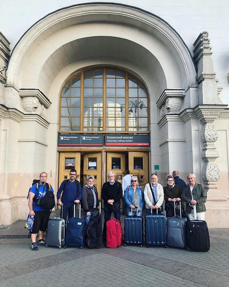 Grupo Transiberiano En Estacion Kazanskaya