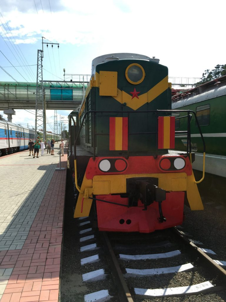 Museo Ferrocarril Novosibirsk 11