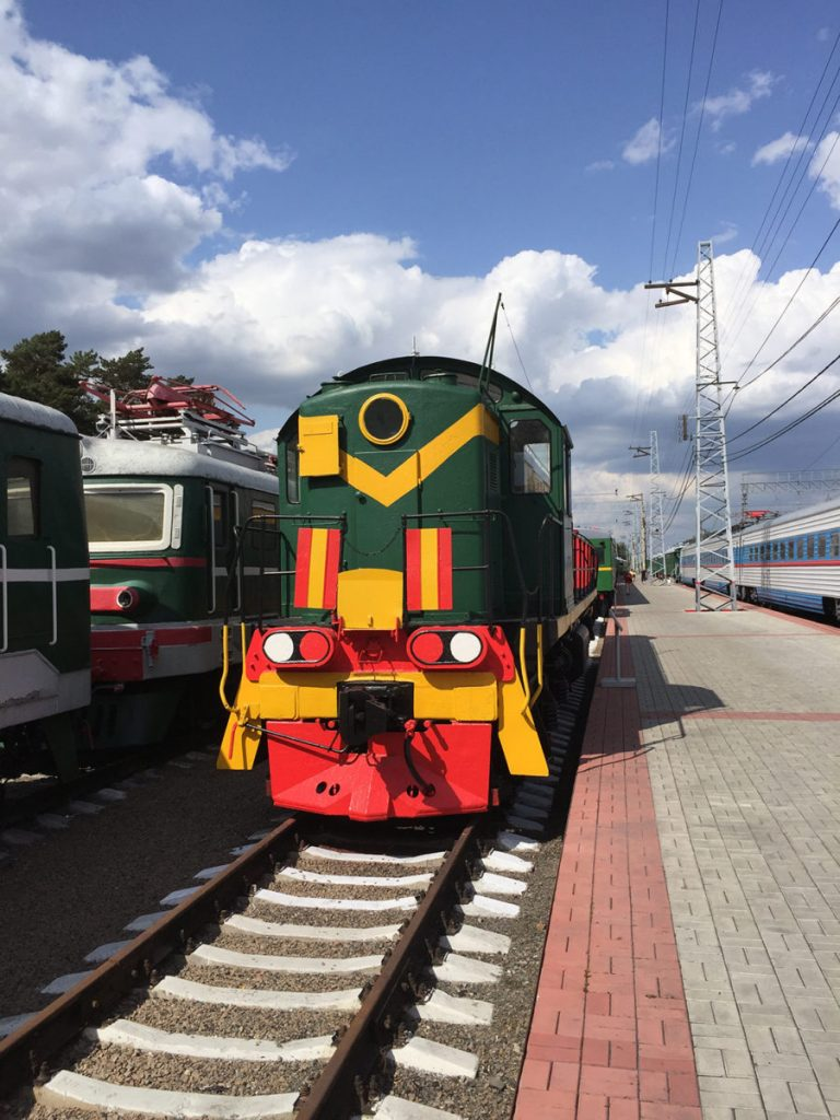 Museo Ferrocarril Novosibirsk 13