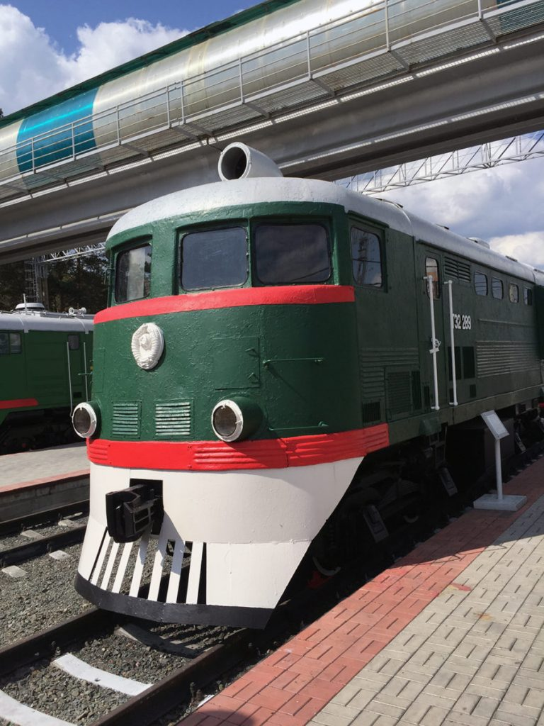 Museo Ferrocarril Novosibirsk 14