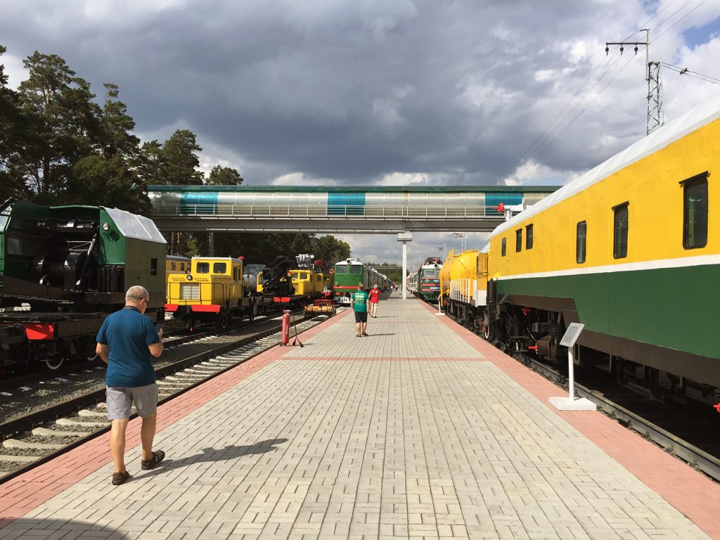 Museo Ferrocarril Novosibirsk 18