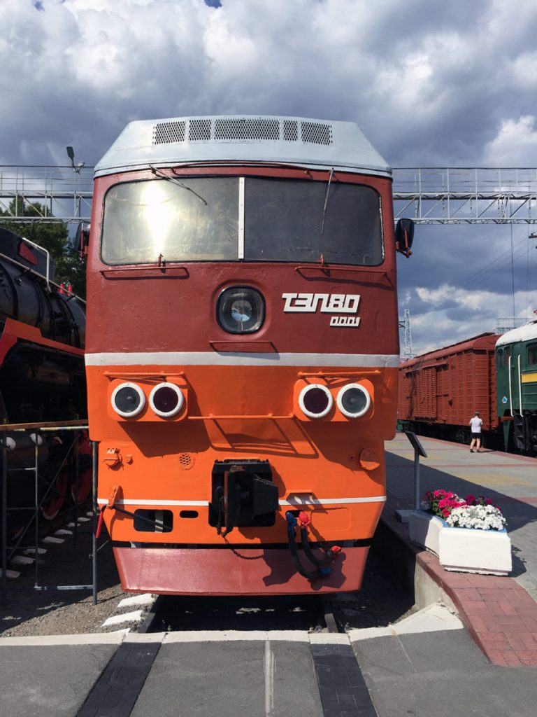 Museo Ferrocarril Novosibirsk 20