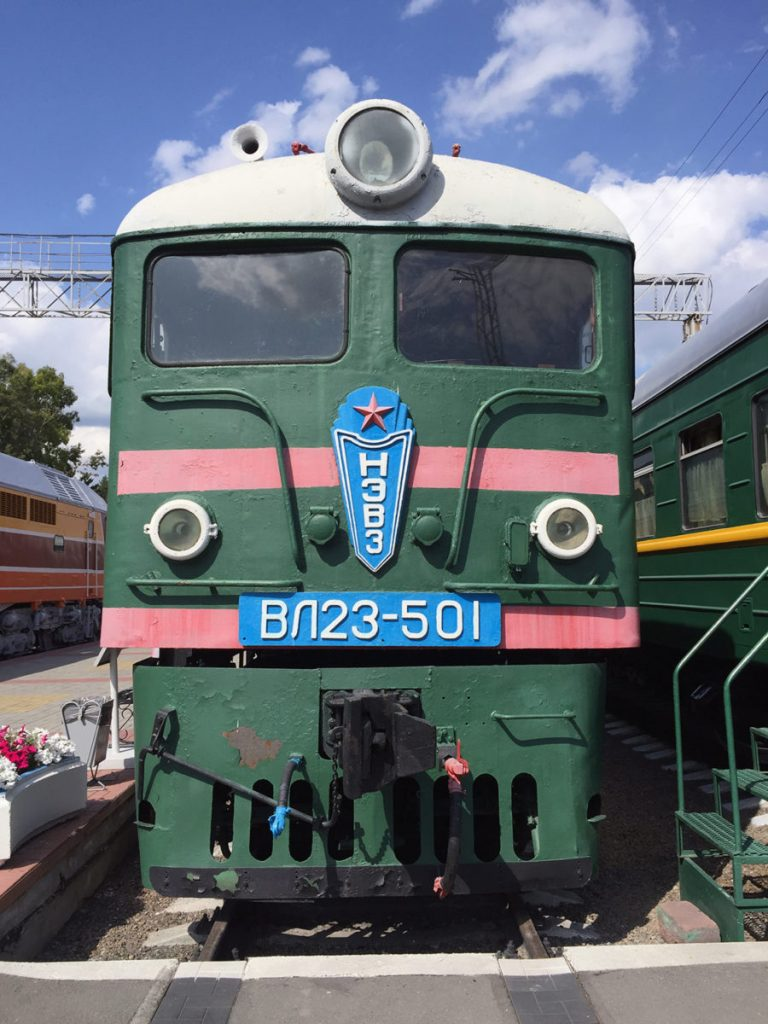 Museo Ferrocarril Novosibirsk 7