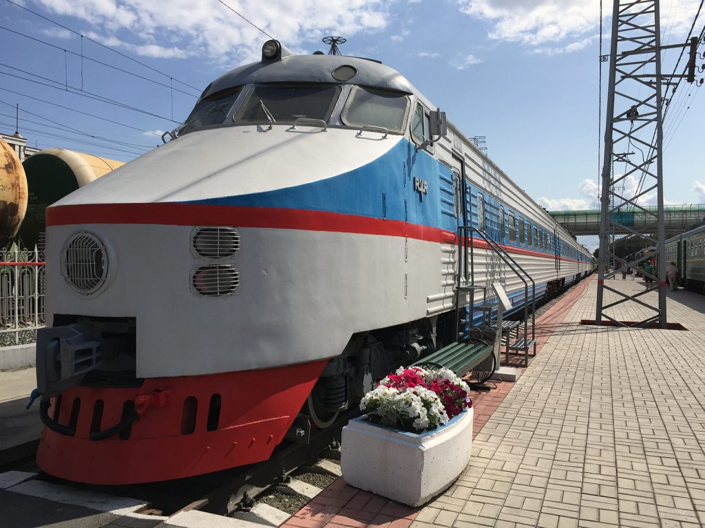 Museo Ferrocarril Novosibirsk 8