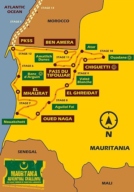 Viaje En 4x4 A Mauritania 2020