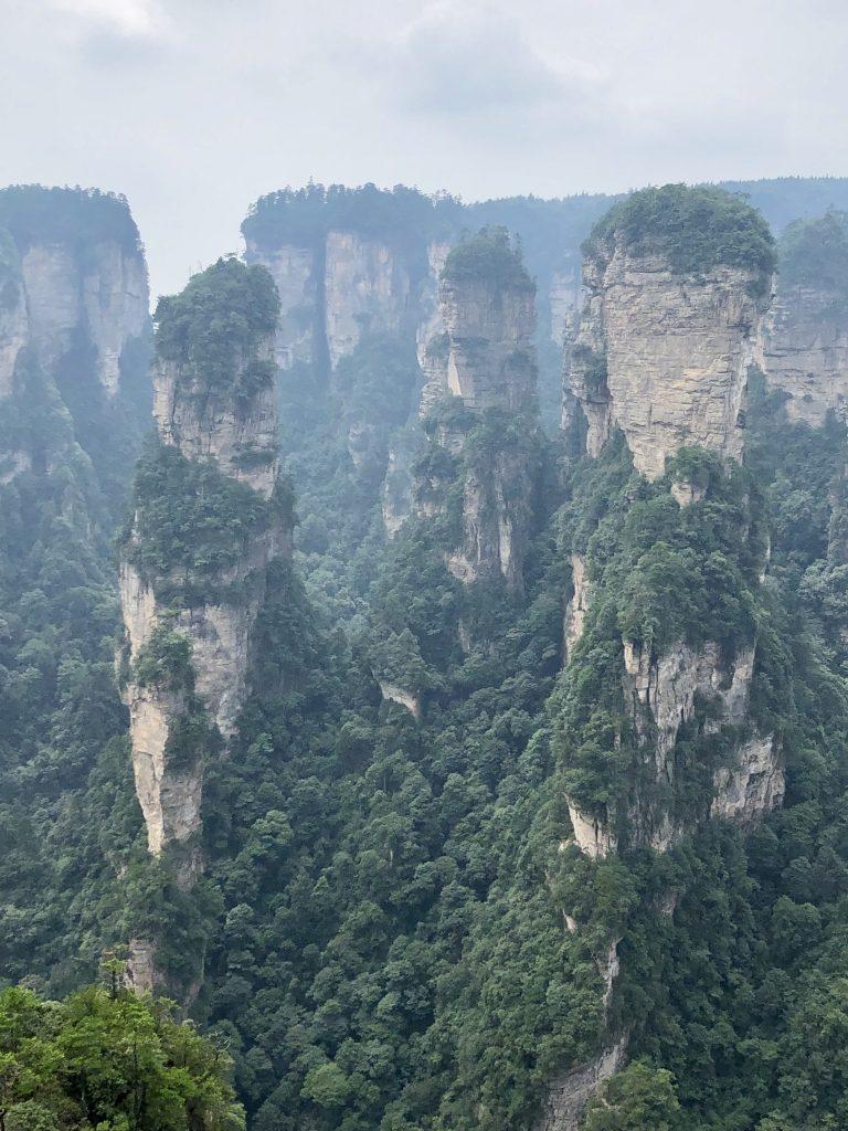 Montanas De Avatar Parque Nacional Wulingyuan Zhangjiajie China 5