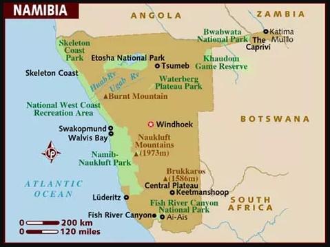 Viaje A Namibia En 4x4