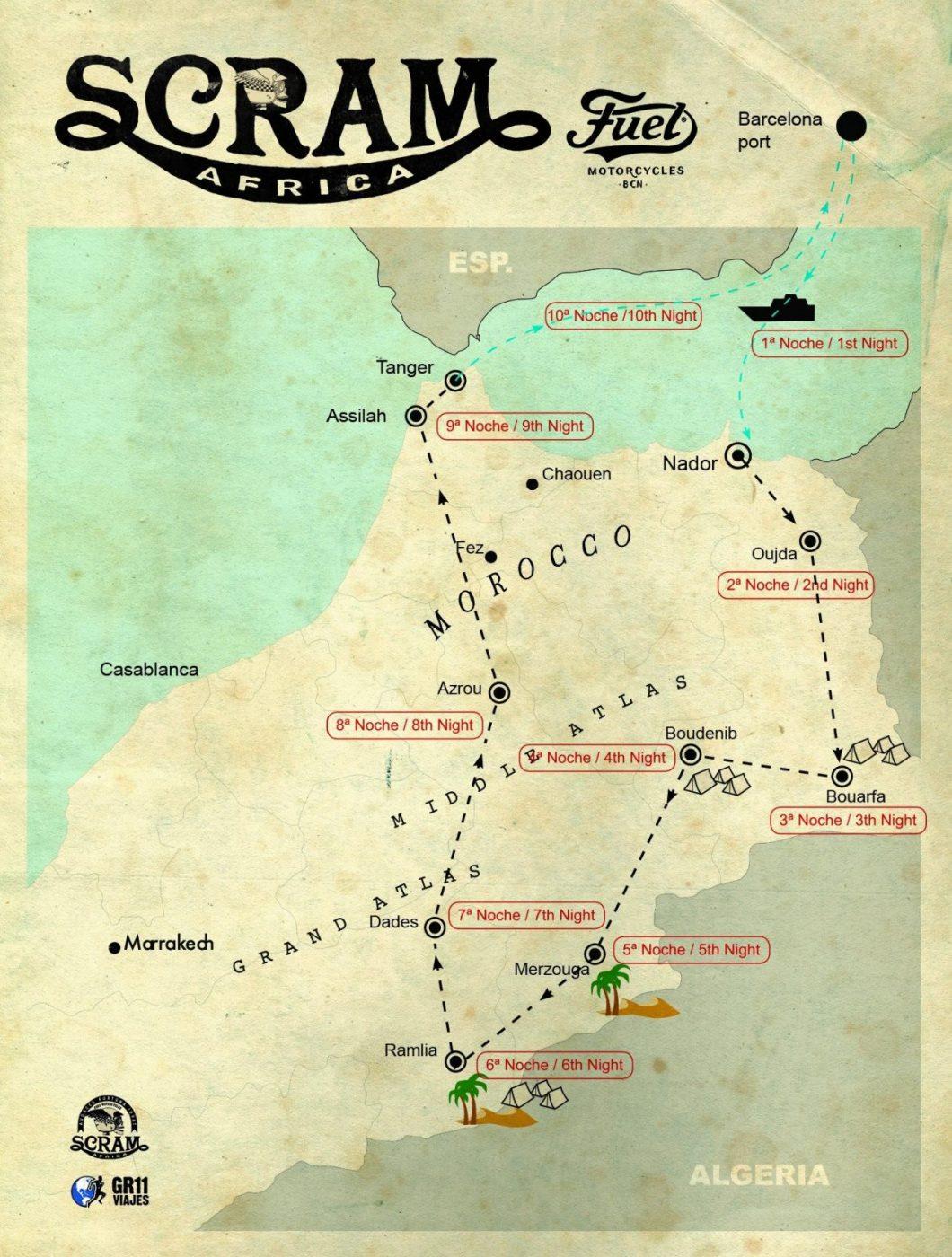 Map Scram Africa 2020