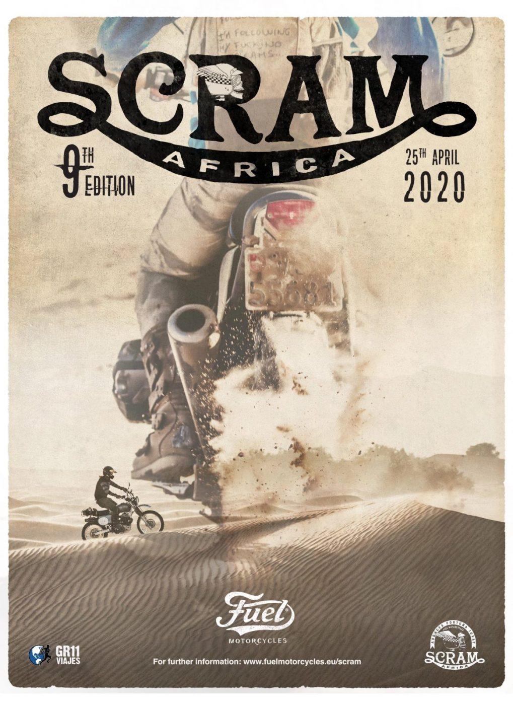 Poster Scram Africa 2020