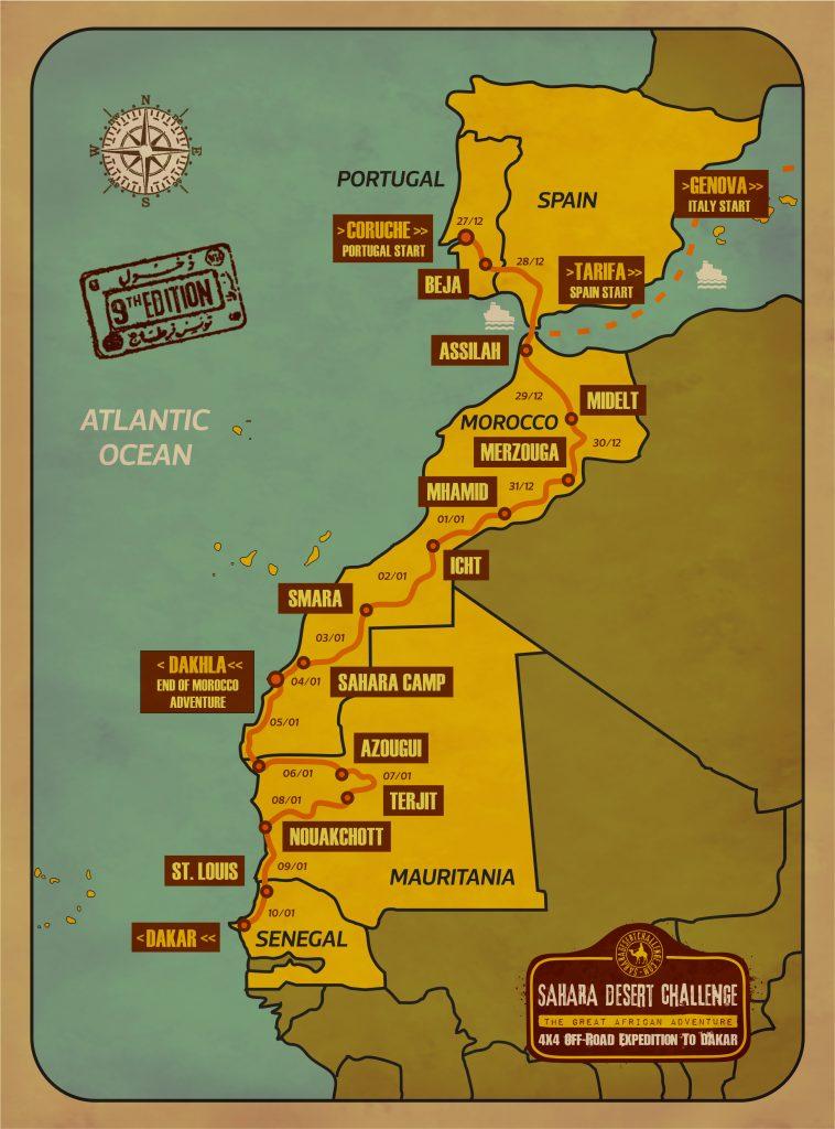 Mapa Sdc 2020